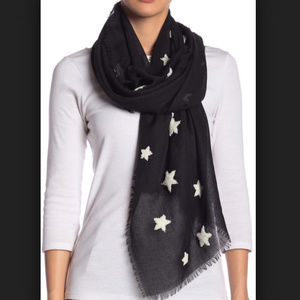 NWT  Michael Stars Women's Textured Star Scarf